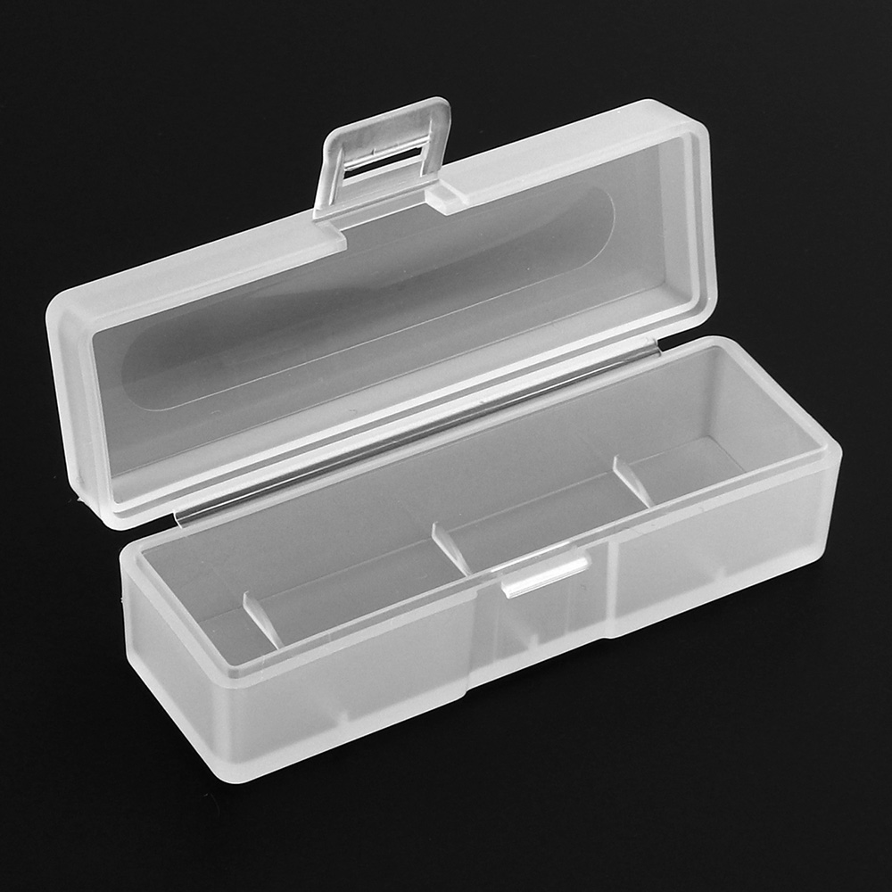 Clear Battery Storage Box Protect Case For AA//AAA//18650//cr2//cr123a//16340 Battery