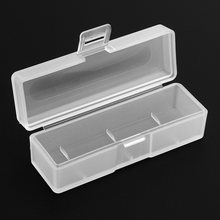 Portable Plastic Lithium Battery Box Case Holder with Protective and Storage Function for 18650 Battery Container(China)