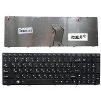 Rússia Novo Teclado PARA LENOVO G780 G780A G770 G770A RU laptop teclado Preto fronteira