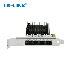 Image 2 - LR LINK 9804BF 4SFP+ quad port 10gb ethernet adapter PCI Express fiber optic network card nic INTEL XL710 Compatible XXV710 DA1