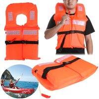Universal Adjustable Size Life Vest Polyester Life Jacket Foam Flotation Swimming Boating Surfing Safety Vest Jacket