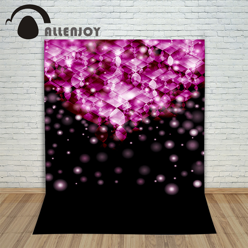 Background photography vinyl backdrop Pink circle light blur for a photo shoot photographic camera allenjoy christmas village decoration house amusement park foto for a photo shoot photographing background photography