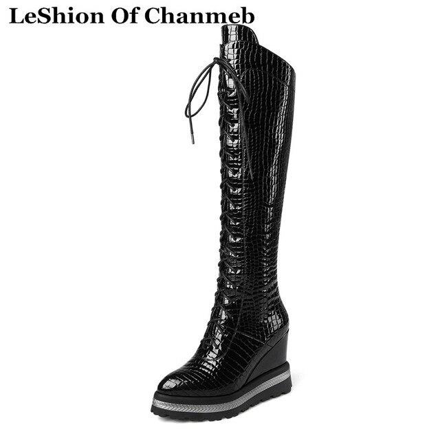 Women Warm Tall Boots