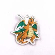 1PCS Exquisite cute badge creative wild elf Dragonite acrylic brooch pins new clothing accessories children backpack pendant(China)