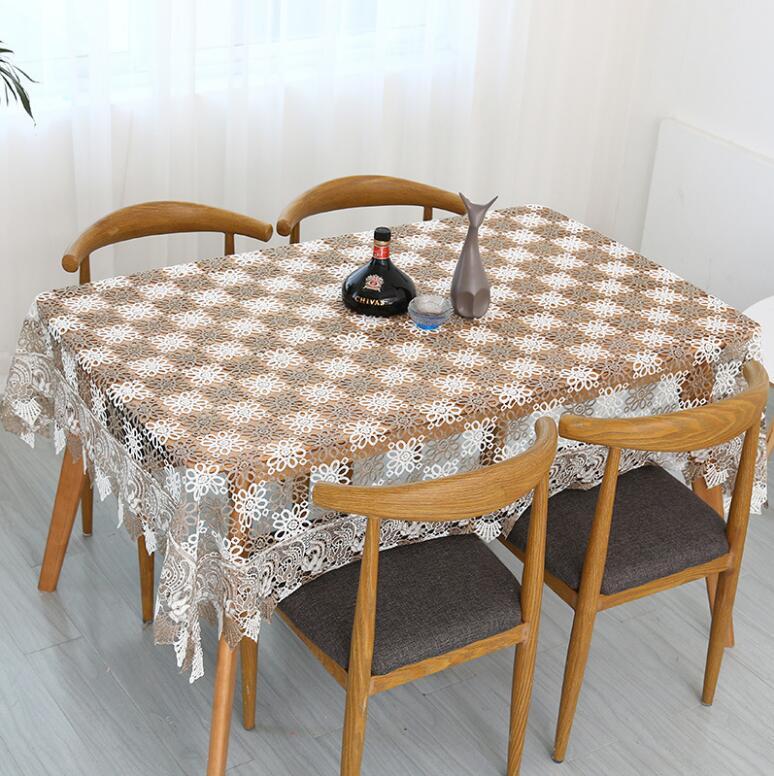 Stolze Rose Spitze Tischdecke Tischdekoration Mode Hochzeit - Haustextilien - Foto 5