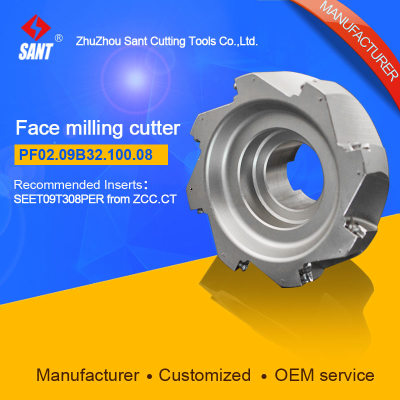 цена Applicable inserts FMP02-100-B32-SE09-08 indexable milling tools face milling cutter PF02.09B32.100.08