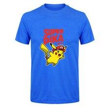 Pokemon Super Mario Pika T-shirt