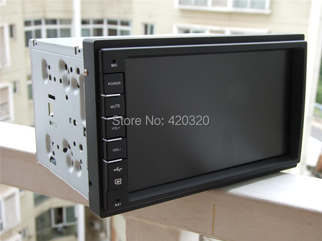 ФОТО Onboard car PC computer display standard universal chassis modification computer case for car 176*98*150mm fit 7 inch LCD