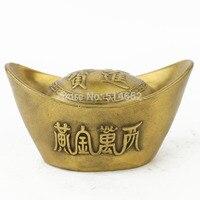 FengShui Lingote de Bronze ESTÁTUAS