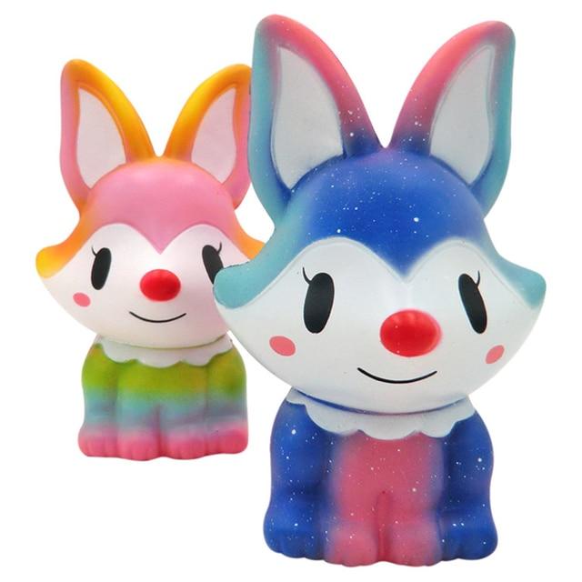 TOFOCO Raposa Kawaii Coração Mole Jumbo Brinquedos Aumento Lento Antistress Decorar Bolo Squishies Aperto Comida Perfumada Gadget