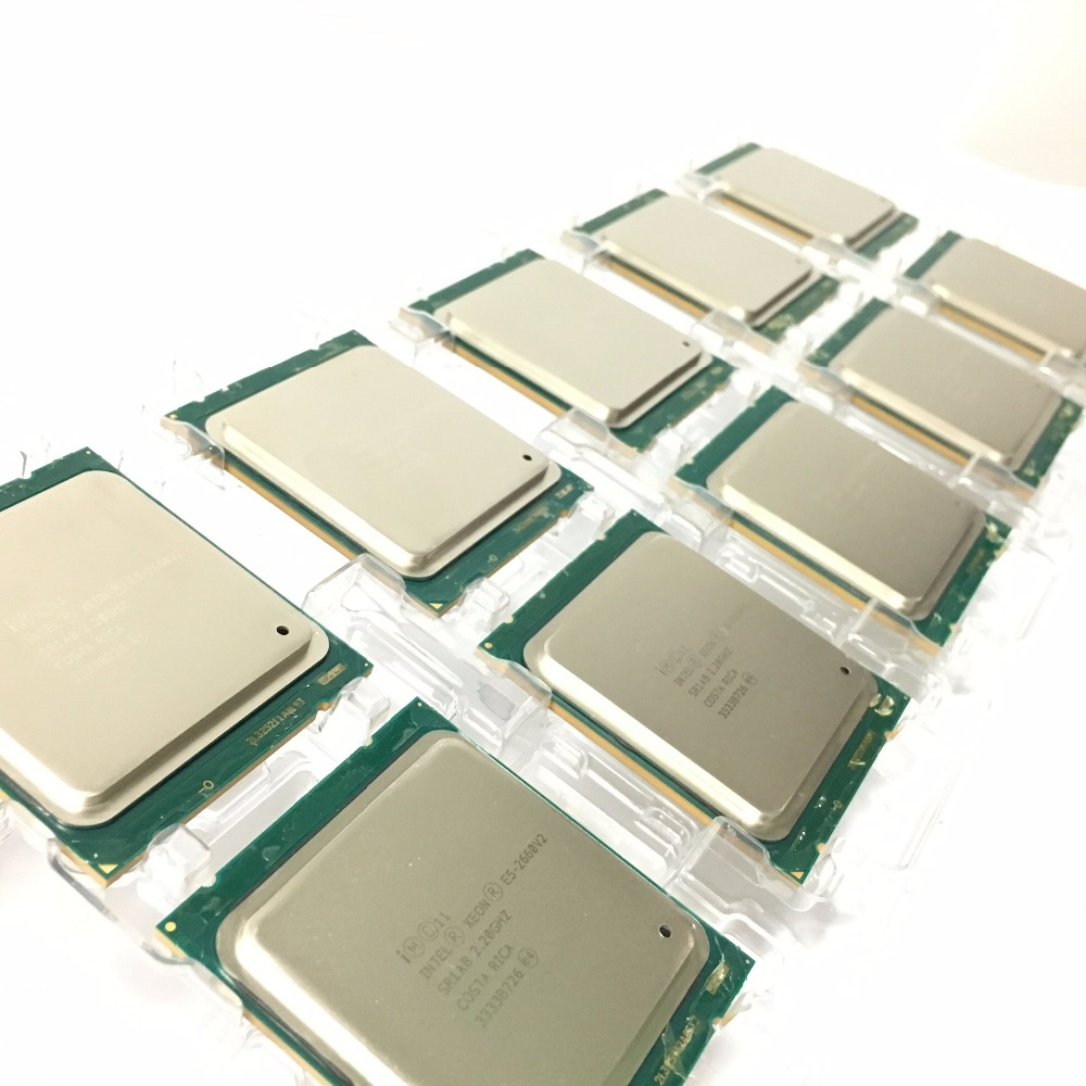 Image 5 - Intel Xeon Processor E5 2660 V2  E5 2660 V2 LGA 2011 CPU  Ten Cores Xeon Processor E5 2660V2  SR1AB Server Desktop CPU-in CPUs from Computer & Office