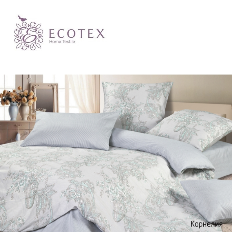 "Фото Bed linen ""Cornelia"", 100% Cotton. Beautiful, Bedding Set from Russia, excellent quality. Produced by the company ""Ecotex"""