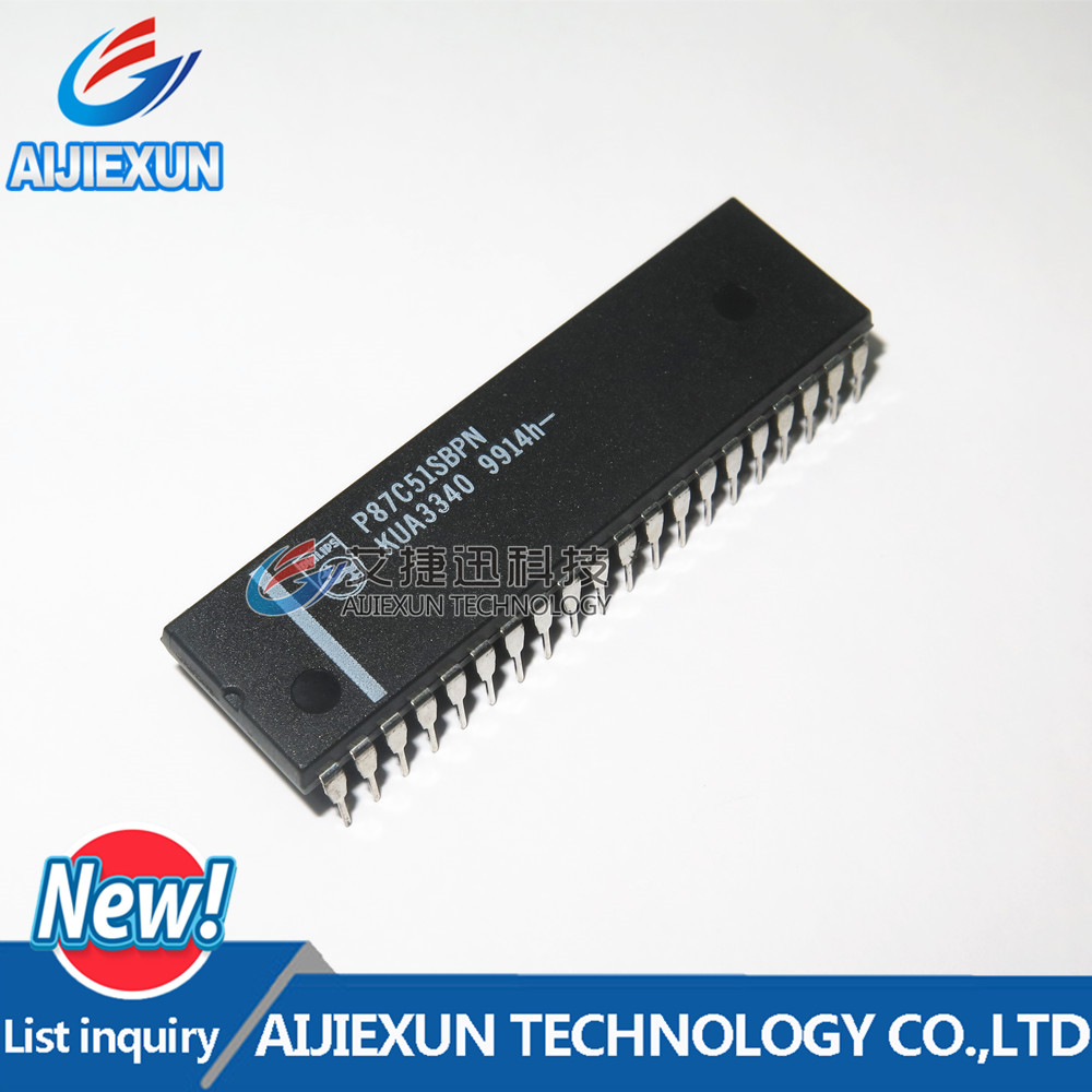 Microcontroller P87C51SBPN DIP40 80C51 1pcs 8-Bit Low-Voltage And Family Otp/Rom 4-K/8-K