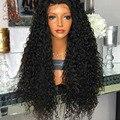 150 Density Kinky Curly Full Lace Human Hair Wigs For Black Women 8A Virgin Brazilian Lace Front Wigs U Part Human Hair WIgs