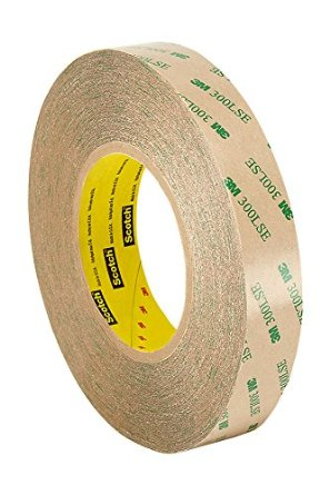 3M 9472LE 300LSE Laminating Adhesive Transfer Tape, Clear, 5mil  2X60YD Pack of 13M 9472LE 300LSE Laminating Adhesive Transfer Tape, Clear, 5mil  2X60YD Pack of 1
