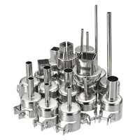 15PC 852 850 Nozzle For Soldering Station Hot Air Stations Gun Rework BGA Nozzle Power Tool
