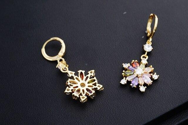 Yunkingdom Rainbow Flower Drop Earrings for Women Cubic Zirconia Crystals Drop Earrings Female K0053.jpg 640x640 - Yunkingdom Rainbow Flower Drop Earrings for Women Cubic Zirconia Crystals Drop Earrings Female K0053