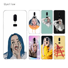 Uyellow Billie Eilish Super Silicone Soft TPU Phone Case For One Plus 7 Pro 6 6T 5 5T Shell Fashion Fundas Printed Cover Coque