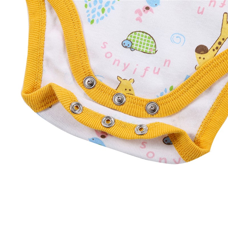 3 Pieceslot Baby Fashion Striped Short Sleeve Rompers Children Jumpsuit Newborn Boys Girls Clothes Body Roupa de bebe Overalls (53)