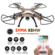 Syma X8HW X8HC Quadcopter FPV 6 Axis Quadrocopter Camera Remote Control Helicoptero RC Drones Com Camera
