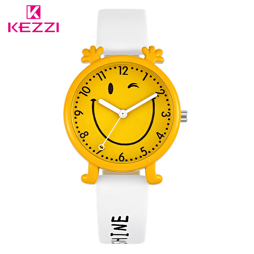 KEZZI Free Shipping Kids Boy Girl Watch Quartz Analog Leather Wristwatch Gift Cartoon Casual Waterproof Watches Children Relogio