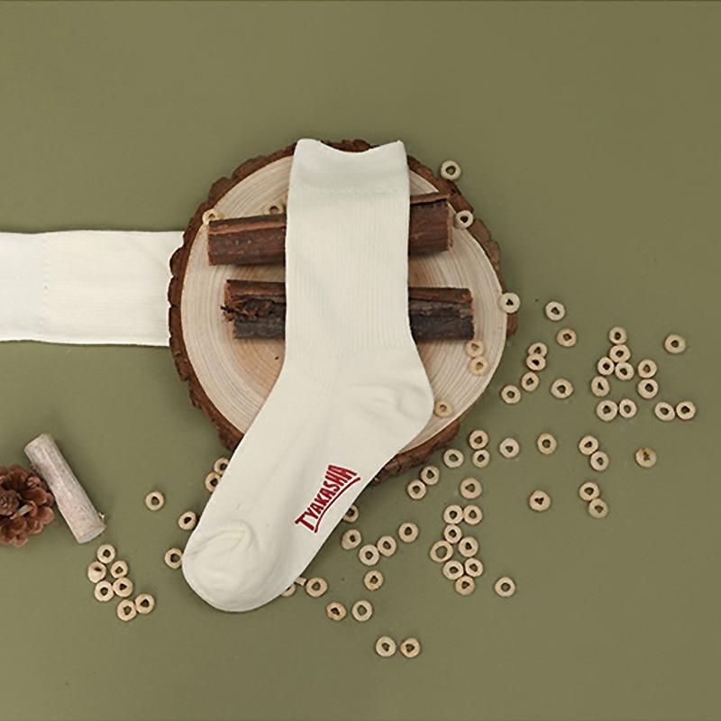 Веселое Harajuku Для женщин носки белые пижамный комплект зеленого цвета с милым носки для женщин модное высококачественное хлопковые носки для девочки-подростка; сезон осень Повседневное - Цвет: Белый