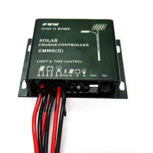 Image 3 - PowMr Waterproof Solar Charge Controller 10A 20A IP68 LED Digital Solar Regulator 12V 24V Auto for DC Solar Street Light System