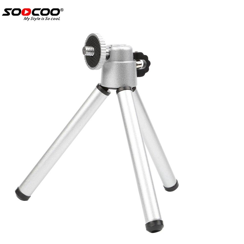 Soocoo на действие Камера Портативный мини штатив Стенд для телефона GoPro xiaoyi 4 К SJCAM EKEN цифровой Камера видеокамера