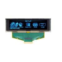 3.12 inch OLED Màu Xanh Màn Hình LCD 256X64 OLED LCD LED Hiển Thị Module với SSD1322 Drive IC cho Arduino