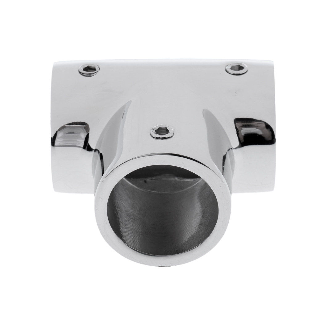 Image 2 - 25mm Boat Handrail Fittings 90 Degree Tee   Marine 316 Stainless Steel For pipe 1 inch-in Marine Hardware from Automobiles & Motorcycles