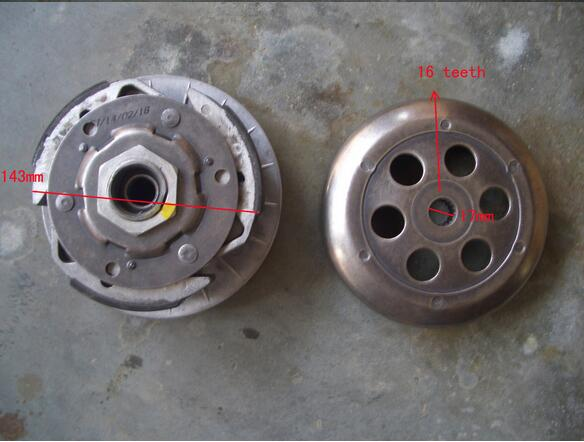 Drive Pulley For 300cc Go Kart Buyang Linhai 300cc Atv