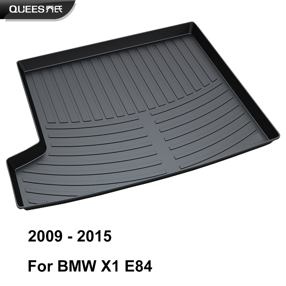 Image 2 - QUEES Custom Fit Cargo Liner Boot Tray Trunk Floor Mat for BMW X1 E84 F48 2009 2010 2011 2012 2013 2014 2015 2016 2017 2018 2019