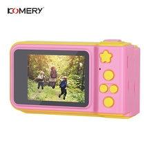 Детская цифровая камера komery 2 дюймовый экран дисплея мультяшная