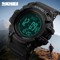 New SKMEI Men Sports Watches S SHOCK Military Compass Pedometer Calories Digital Watch Men Waterproof Electronic Wristwatch Mens