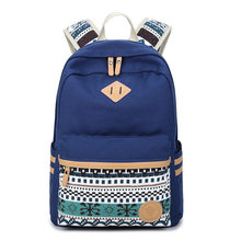 Национальный Рюкзак девушка сумка новый 2017 школьные сумки женщины mochila Бесплатная доставка CHISPAULO бренд сумка для ноутбука