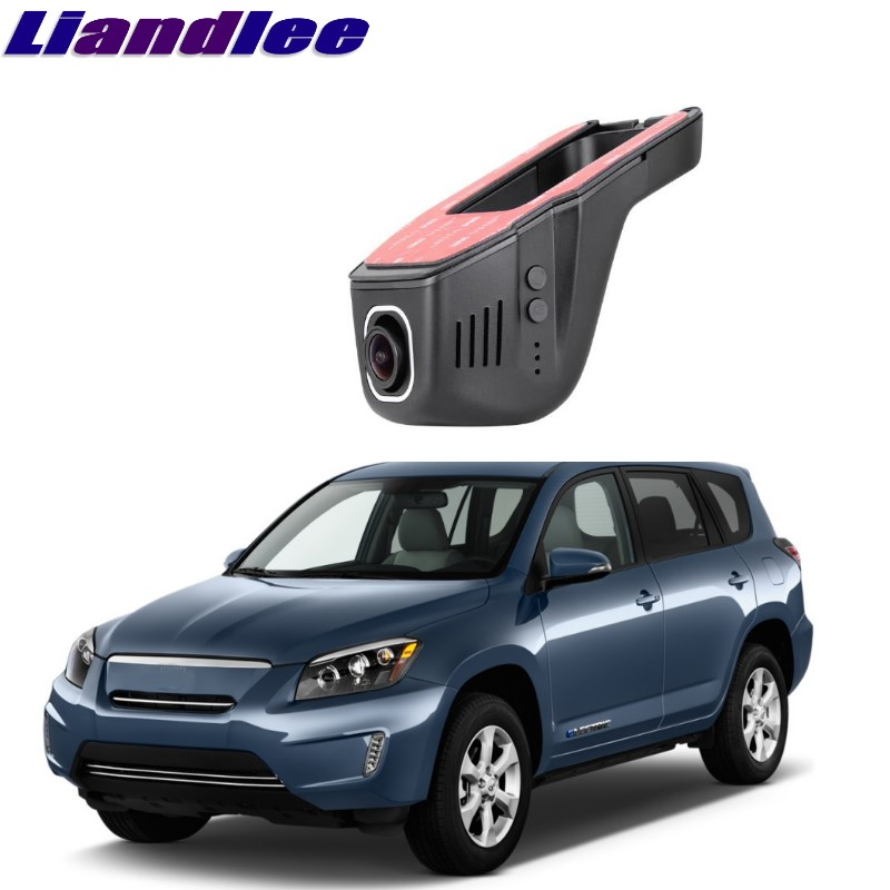 Liandlee For Toyota RAV4 EV 2012~2014 Car Black Box WiFi DVR Dash Camera Driving Video Recorder 1 pcs novelty cute my neighbor totoro gel ink pens signature pen escolar papelaria office school supply promotional student gift