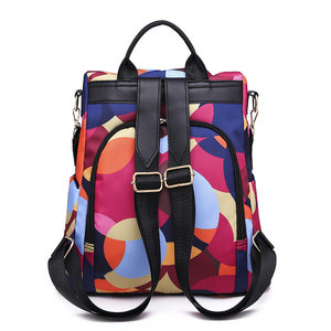 Image 4 - DIZHIGE Brand Fashion Waterproof Oxford Women Anti theft Backpack High Quality School Bag For Women Multifunctional Travel Bags