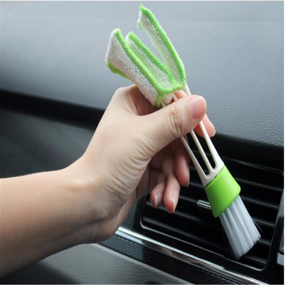 Car Care Cleaning Brush Auto Cleaning Accessories For VW Volkswagen Golf 7 5 6 Passat B5 B6 B7 Polo CC Tiguan Jetta 2pcs auto for auxiliary cooling water pump fit vw jetta golf gti vw passat cc octavia 1 8 t 2 0 t 12 v engine1k0 965 561 j