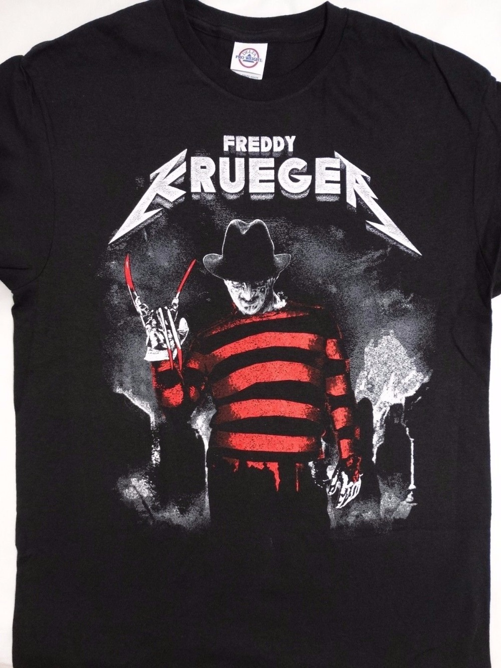 f7a9fb50afa Logo T Shirts Men S Print Short O-Neck Freddy Krueger A Nightmare On Elm  Street