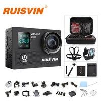 Original RUISVIN S30B Action Camera 4K WIFI Full HD 1080P 60FPS 2.0 LCD 30M Diving Go Waterproof Pro Camera Ultra HD Sports DV