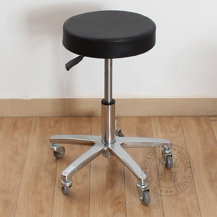 Beauty stool. Hairdressing chair. Master stool.. Swivel chair lift ...