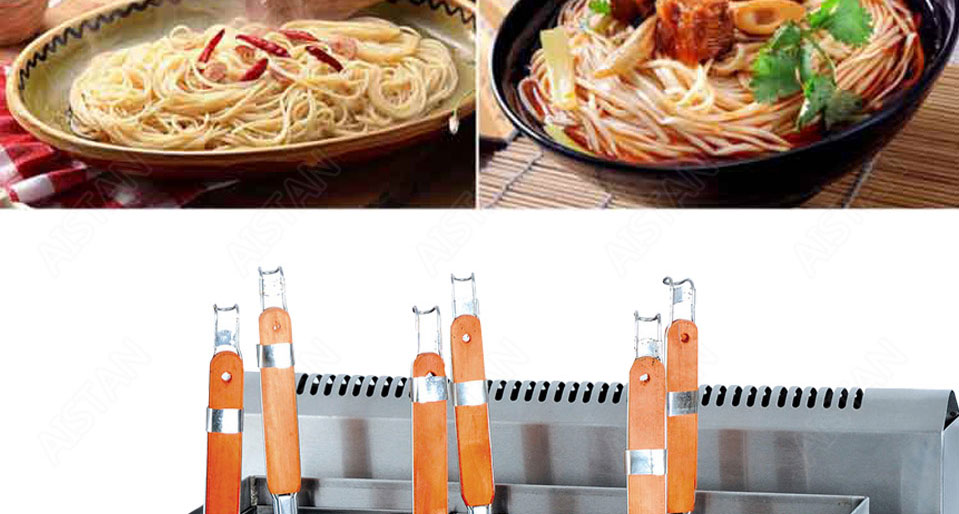 EH674  4-basket electric counter top pasta cooker for commerical use 14