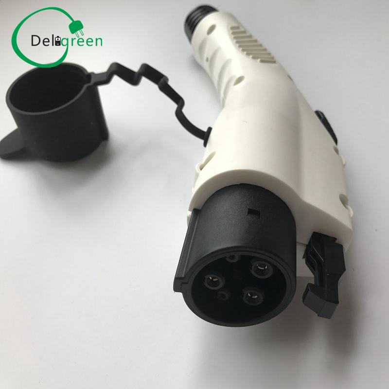 Prix pour 32A SAE J1772 AC PLUG/connecteur sans CÂBLE pour voiture électrique de charge ou station de recharge