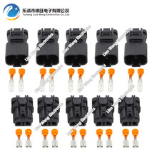 5 sets 2Pin 6.3mm car connector DJ70253-6.3-11/21 Car Waterproof Electrical plug,car refit for boat ect