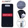 100% Оригинал Испытания 1280x720 Дисплей Для ASUS Zenfone 5 LCD Сенсорный Экран С Рамкой Планшета A500KL A500CG A501CG Замена