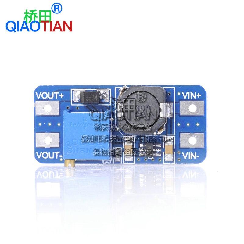 DC-DC Boost Module 2a Boost Board Wide Voltage Input 2/24V L 5/9/12/28V Adjustable 2577