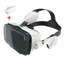 VR Box Z4 3D Glasses Virtual Reality Goggles Google Cardboard VR Headset With headphones controller For 4.2-6.2 inch Smartphone