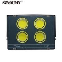 SZYOUMY 2018 yeni sürüm LED projektör AC85-265V IP66 su geçirmez LED sokak lambası 50W 100W 200W 300W 400W yüksek parlaklık