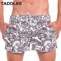 Taddlee Brand Sexy Swimwear Men Swimsuits Swimming Boxer Trunks Surfing Quick Drying Shorts Men's Short Bottoms Man Bermuda 2018