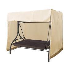 Cubierta de columpio de jardín, cubierta superior impermeable, cubierta de polvo, cubierta de reemplazo para silla de columpio, toldo de Hamaca, toldo oscilante para silla